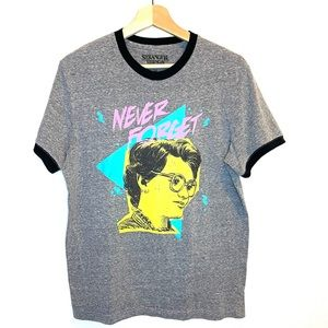 STRANGER THINGS Never Forget Graphic Tee